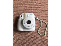 Instax camera blue
