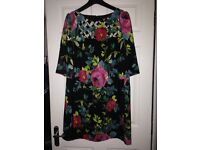 Multi colour dress size 18