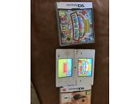 Nintendo dsi with 2 games