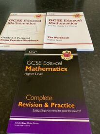 GCSE Edexcel Maths higher level book