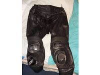 RST Black Series leather bottoms