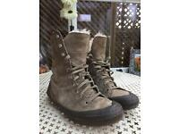 CAT leather boots