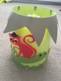 Lovely nursery ceiling lampshade