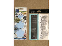 Crafting - Various Dies by Cuttlebug, Memory Box & Marianne Design