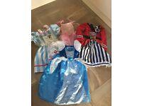 Girls fancy dress bundle age 4-6