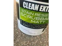 Crown stain resistant scrubbable Matt clay white 5 litre paint brand new