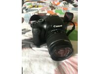 Canon EOS 1100D SLR Camera w/ charger, SD card, and SD card reader