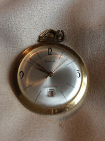 VINTAGE BASIS PENDANT WATCH - SWISS MADE