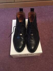 Russell & Bromley Ladies flat ankle boots