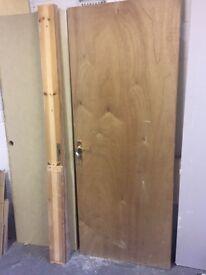 Interior Fire Door and Frame