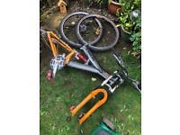 Trek full suspension mountain bike (parts)