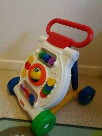 FISHER PRICE baby walker toy activity board New