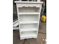 Shabby chic wall shelves