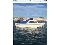 Boat day fishing /Leisure 14.5ft with outboard and trailer