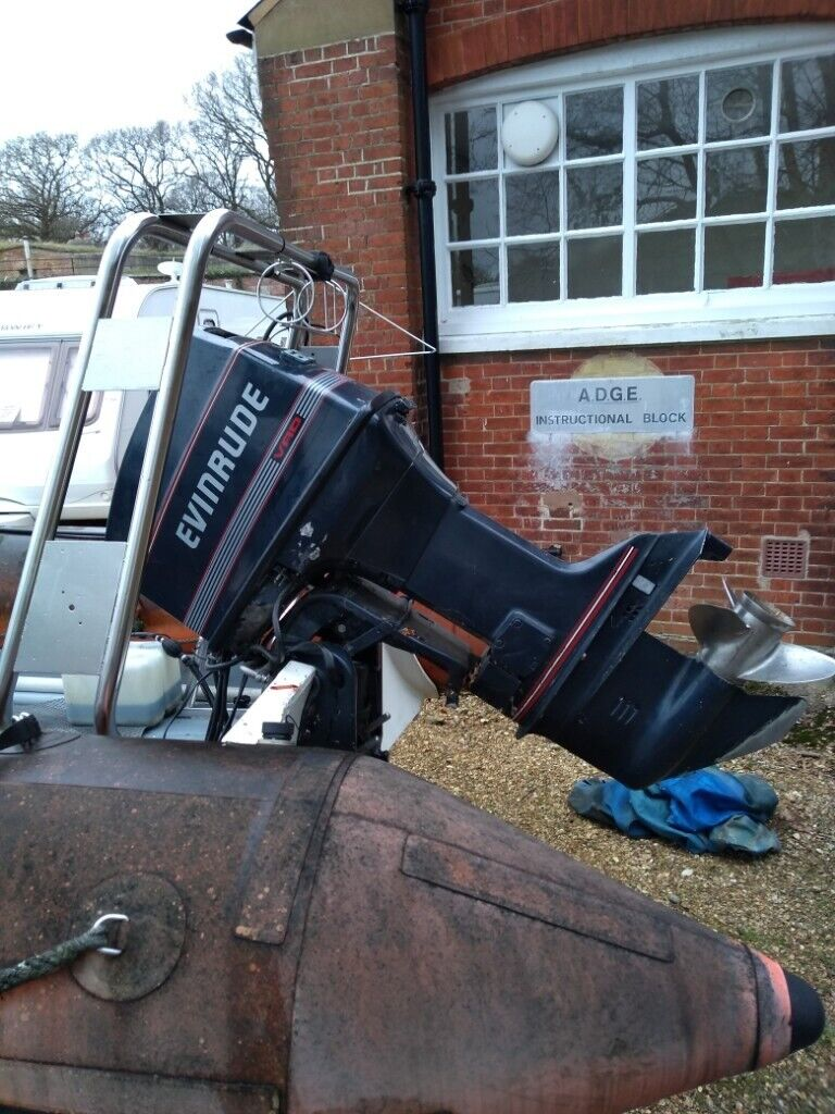 Evinrude 60 hp VRO outboard engine   in Gosport, Hampshire   Gumtree