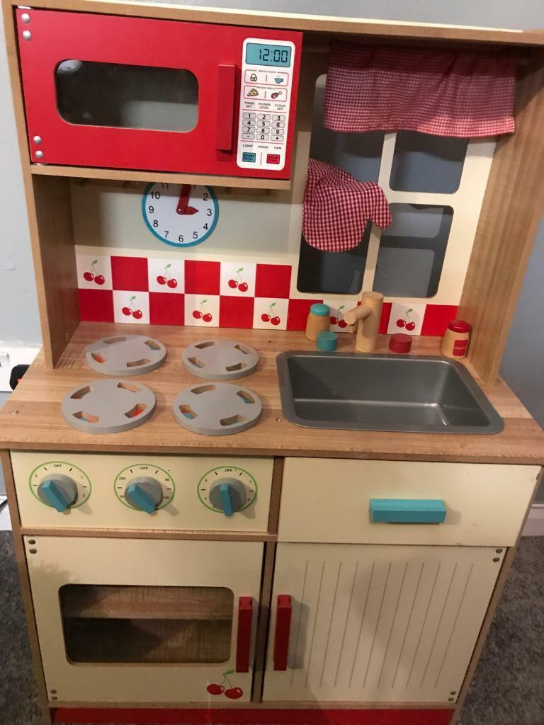 Kids Wooden Kitchen Set And Accessories In Sheffield South