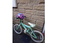 Childs sunbeam heartz bike