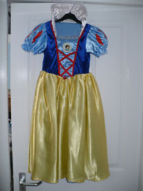 Princess Cinderella and Snow White reversible fancy dress costume for 7-8 years from Disney Store.