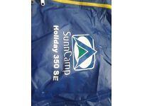 sunncamp 350setrailer tent main awning