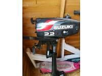 suzuki 2.2 2 stroke outboard engine