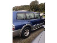 2002 Mitsubishi 4x4 wheel drive