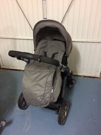 iCandy Pram and Buggy set with extras