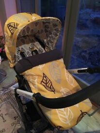 Cosatto 3 in 1 Travel System in 'Oaker' (pram/ buggy/ pushchair)