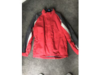 Men's Waterproof 'Alpine Snowsport' Ski Jacket Medium Millets Red, Grey and White