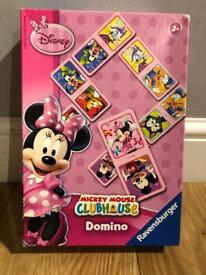 Minnie Mouse clubhouse domino set