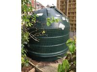 600 Gallon 2770litre beehive PVC oil tank
