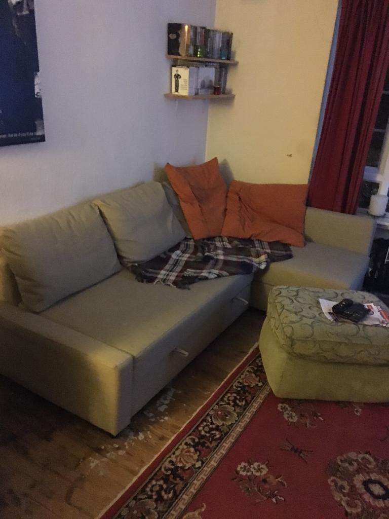 Ikea Friheten corner sofa bed £150ono