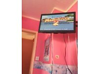 playstation 2 with 4 kids games