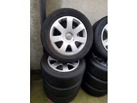 Audi Genuine 16'' Alloy Wheels Can Sell Singles Can Post Part Exchange Welcome