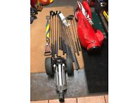 Ladies Cougar Golf Clubs with Bag and Trolley