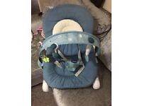 Chicco baby bouncer £15 ONO