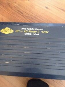 2000 watt converter no hook up wires