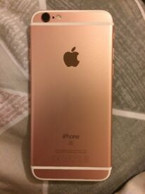 iPhone 6s Rose Gold. Excellent condition