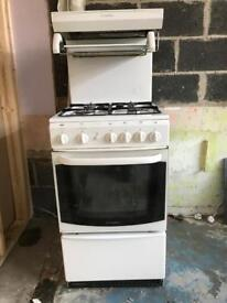 Cannon Oven, Gas hob and Grill