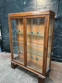 Beautiful Art Deco display cabinet