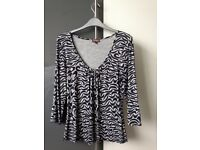 PHASE EIGHT LONG SLEEVED TOP AS NEW