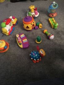Child's toys assortment musical and moving excellent condition