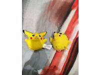Pikachu keyrings