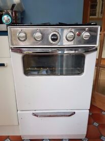 1950 / 1960's Vintage Gas Oven