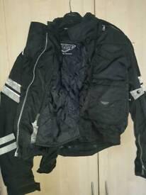 Weiss motorbike jacket size medium.speedfight etc