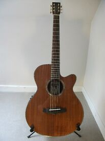 Tanglewood Evolution Exotic TSF CE Koa Electro Acoustic Guitar