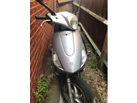125 piaggo fly ( £350 ) closest offer takes it