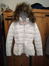 Ladies HOLLISTER coat UK small