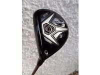 Brand new left handed Titleist 915F 3 wood with head cover