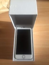 Apple iPhone 6 Vodafone 16 gig gb white silver can open unlock unlocked any network near new