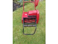 Suffolk Punch e14s electric cylinder lawnmower self propelled